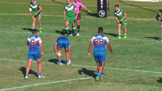 Student Rugby League World Cup 2017 - Round 1 Pacific Islands v Ireland (1st Half) Friday 7th July Ringrose Park, Sydney, ...