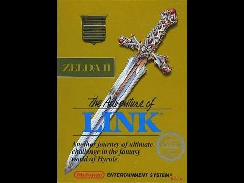 zelda ii the adventure of link nes gameplay