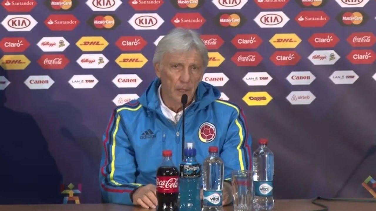 "Copa América 2015: Pekerman: ""Vai ser um jogo muito duro"" #CopaAmericaChile2015"