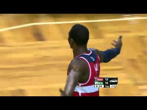 John Wall Dunks on Celtics