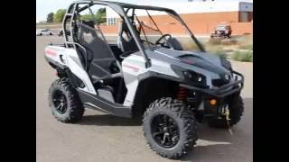 10. 2017 Can-Am Commander XT Walk-Around