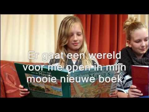 'Er gaat een wereld voor me open' - liedje Kinderboekenweek 2012