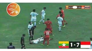 Video Indonesia vs Myanmar U18 2017 (Detik-detik kekalahan myanmar) MP3, 3GP, MP4, WEBM, AVI, FLV April 2018