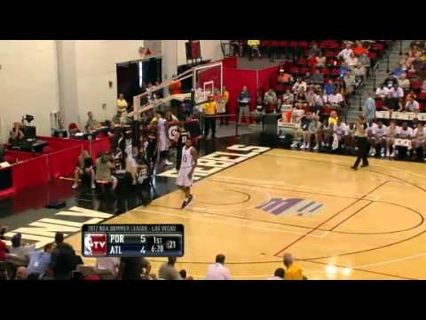 Will Barton dunks on the Hawks