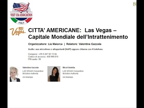 Video CITTA' AMERICANE: LAS VEGAS Capitale Mondiale del divertimento