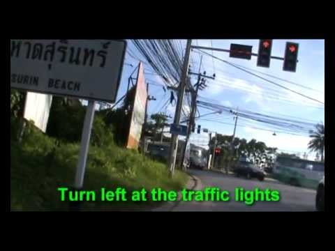 Phuket Map – Phuket Airport to Patong.avi