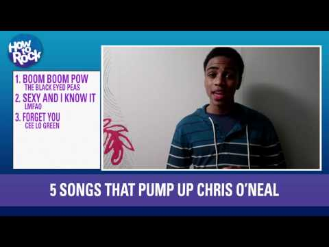 Chris O'Neal's Favorite Songs To Pump You Up