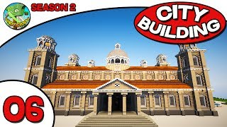 Minecraft City Building S2E06 - New Town Hall