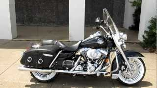 6. 2008 Harley Roadking Classic, super trapp exhaust, hear it run