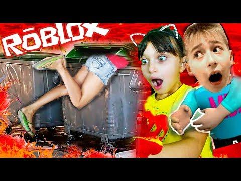 rоblох ПОЛ ЭТО ЛАВА ЧЕЛЛЕНДЖ ПОБЕГ Валеришка сим мы играем РОБЛОКС для детей Детский ЛеТсплей кids - DomaVideo.Ru