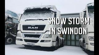 Video Snow Storm In Swindon! MP3, 3GP, MP4, WEBM, AVI, FLV Juli 2019