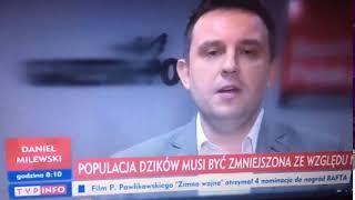 Liziniewicz chce pozbawiać naukowców przeciwnych odstrzałowi dzików tytułów naukowych…