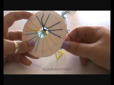 Como hacer pulsera de hilo redonda (round wire bracelet)