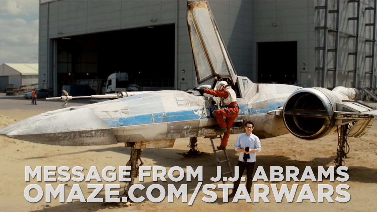 MOVIES: Star Wars Episode VII - J.J. Abrams Reveals brand new X-Wing [VIDEO]