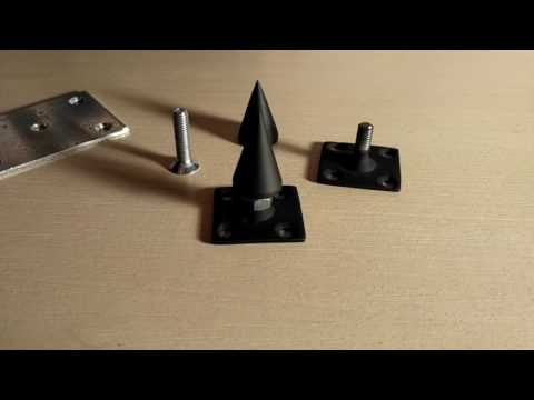 Как сделать шипы для акустики