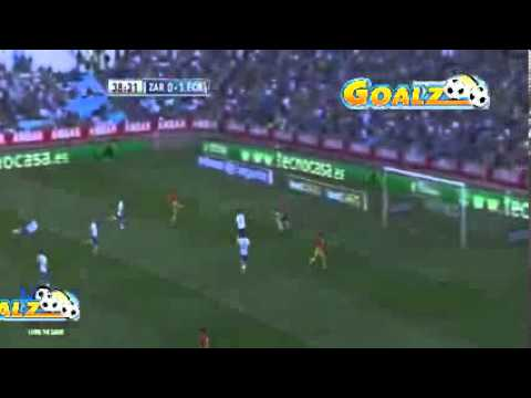 Real Zaragoza - Barcelona (0-3) All Goals & Highlights 14.04.2013