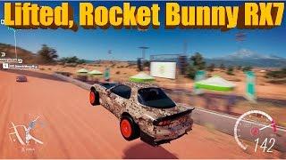 Forza Horizon 3 | LIFTED Rocket Bunny RX7 | Rally Build