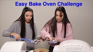 Doing the Easy Bake Oven Challenge! We post new videos every Tuesday! Subscribe to Merrell Twins: http://bit.ly/2dSP9Fg Check Out Our Other Videos: NEW YEARS...