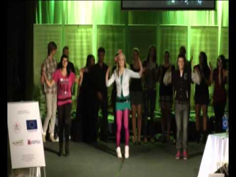 """2011 - Kultúrne vystúpenie """"Shake for Me"""" na tému holokaust"""