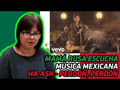 RUSSIANS REACT TO MEXICAN MUSIC | HA-ASH - Perdón, Perdón (Primera Fila - Hecho Realidad) | REACTION
