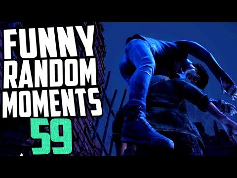 Dead by Daylight funny random moments montage 59 (видео)