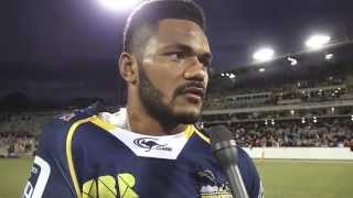 POST MATCH: Henry Speight on the Crusaders | Super Rugby Video Highlights