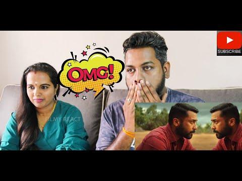 Soorarai Pottru TRAILER REACTION | Malaysian Indian Couple | Suriya | Sudha Kongara| GV Prakash | 4K
