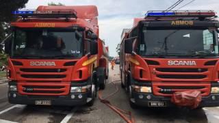 Pekan Malaysia  City pictures : FIRE CALL MALAYSIA (JOHOR) Kebakanran rumah ( Di Pekan Nenas ) TIME : 12:45pm 22-10-16