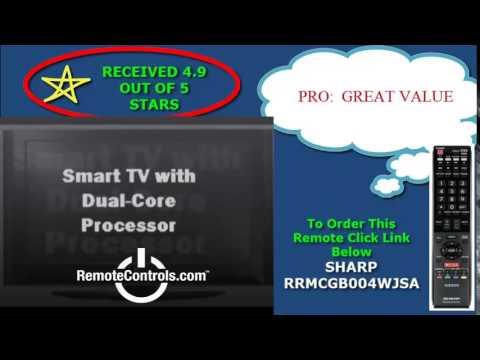 Review Sharp Aquos Quattron Smart LED HDTV - LC-70LE750U, LC-60LE750U