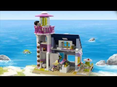 Конструктор Маяк - LEGO FRIENDS - фото № 11