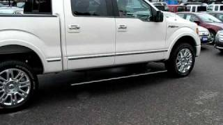 My new F150 Platinum- automatic hide-a-way running boards