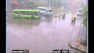 Chandigarh Traffic Police - Road Side Crash Video- 3 (Your Safety - Our Concern)