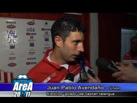 Avendaño habla sobre su gol de chilena