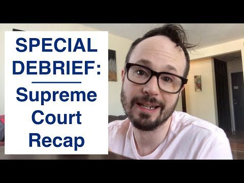 What You Need to Know About The Recent Supreme Court Hearing