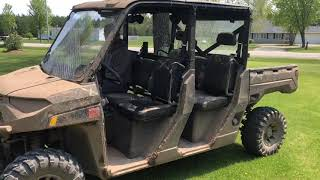 3. 2019 Polaris Ranger Crew XP 1000 goin hard