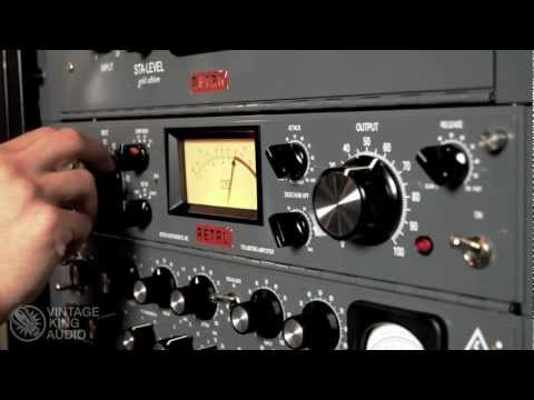 Vintage King | Hear The Gear: Retro 176 Tube Limiting Amplifier