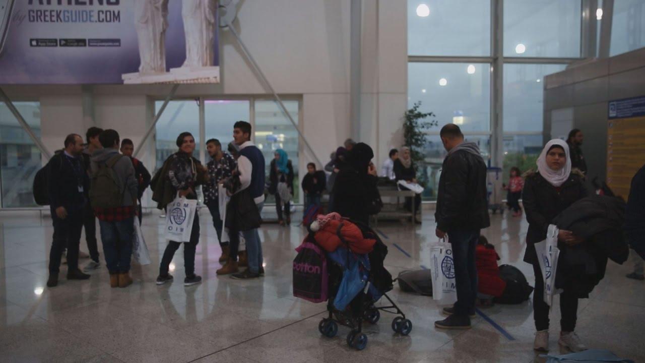 Μετεγκατάσταση 111 Σύρων προσφύγων από την Ελλάδα στη Φινλανδία