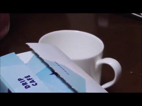 ドトールコーヒー クリスタルマウンテンブレンドを飲む。