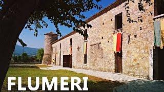 INFO IRPINIA - Fantastiche riprese col drone della Dogana Aragonese di Flumeri e della meravigliosa Valle Ufita, fra verde sconfinato, storia ed ulivi straordinari ...