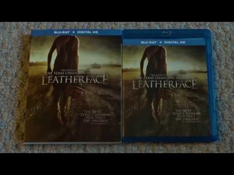 LEATHERFACE (2017) - Blu Ray Unboxing