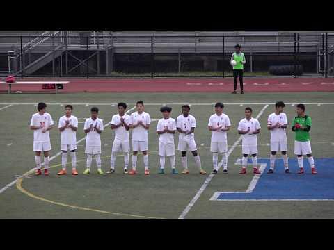 Chamblee Bulldogs Varsity Boys Soccer vs. Riverwood Raiders - 4/24/2018