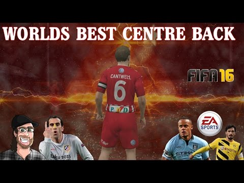 FIFA 16 - Worlds Best Centre back (видео)