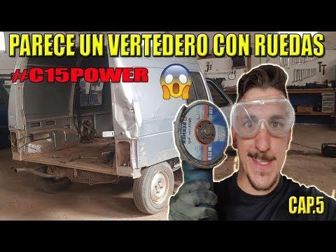 ¡¡NUNCA había visto ALGO ASÍ!! #c15power un vertedero sobre ruedas CAP.5