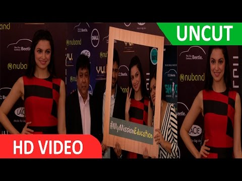 UNCUT | Exhibit Technologies & Volkswagen Announce Tech Fashion Tour 2016 With Divya Khosla Kumar