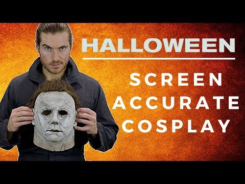 Screen Accurate Michael Myers Halloween 2018 Cosplay!