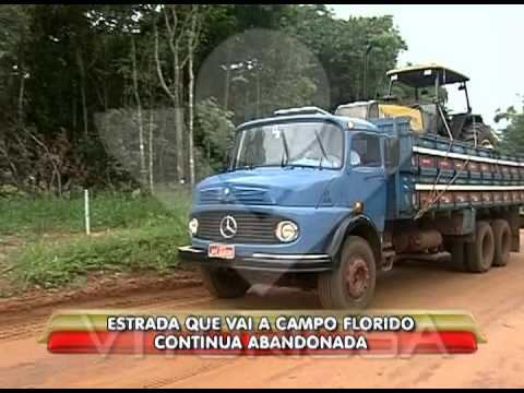 Estrada que vai para Campo Florido continua abandonada - parte 2