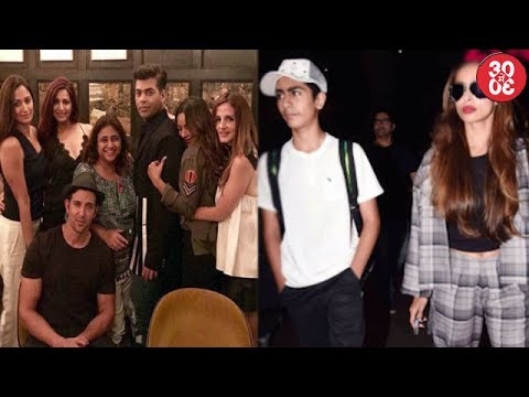 Karan Johar Chills With Hrithik-Sussanne In NYC |