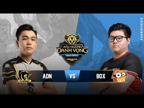 HONOR ADONIS vs BOX GAMING [Vòng 6][26.09.2018] - Đấu Trường Danh Vọng Mùa Đông 2018 - Thời lượng: 1:00:59.