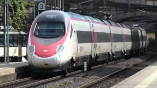 Montreux Switzerland  City new picture : Passenger Trains at Montreux, Switzerland, 12Oct15