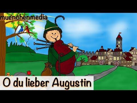 Kinderlieder deutsch - O du lieber Augustin - Kinderlieder zum Mitsingen | muenchenmedia